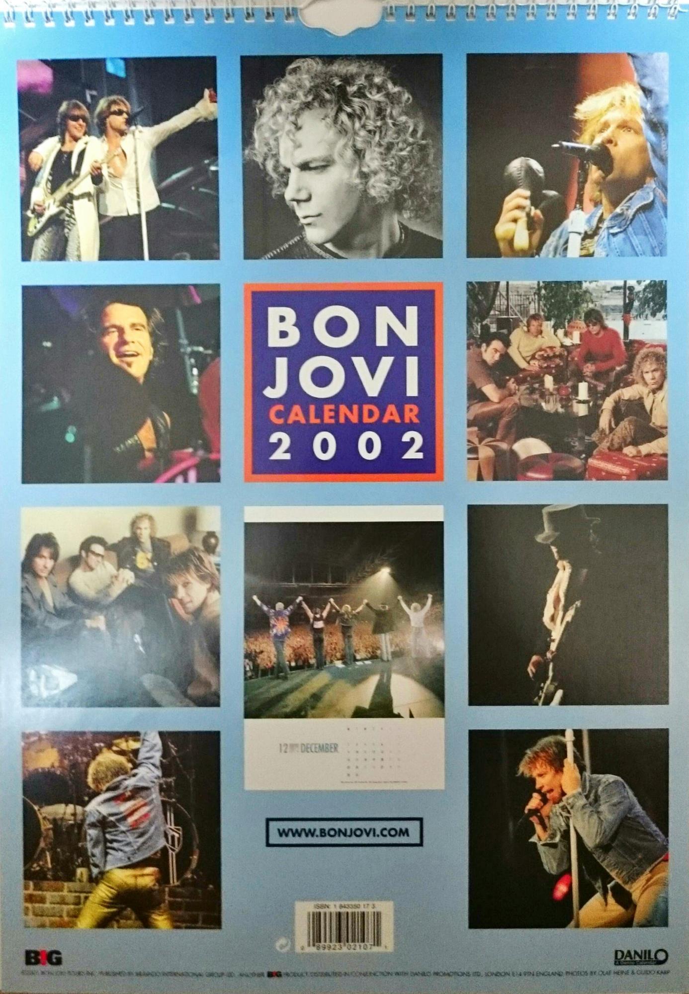 Calendars 2002 Calendar 02 Official1 Official2